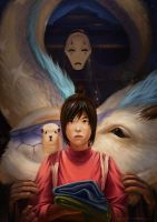 Spirited Away by MariusBota