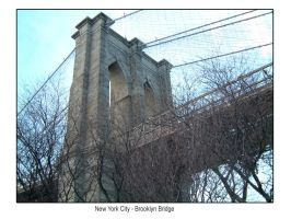 New York City Brooklyn Bridge by hh