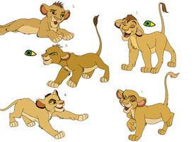 Sibling Cub Adopts OPEN by awesomist1