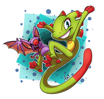 Yooka-Laylee!~ by SilverSonic44
