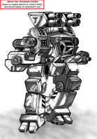 Ammut - 75 Ton Heavy Mech by Excalibur-T005