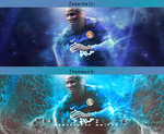 Ashley Young -Collab- by Thomson9