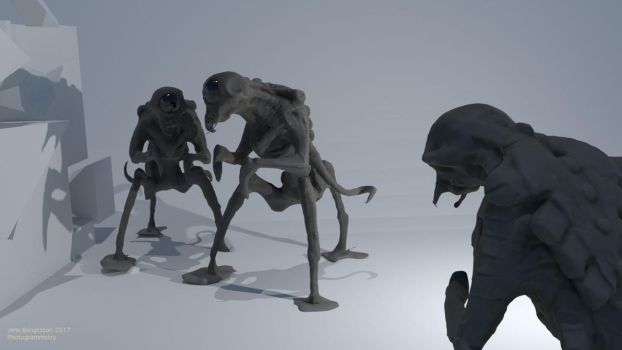 Mistgoblins Photogrammetry by CaconymDesign
