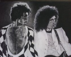 Brian and Freddie by SweetCoconutMilk
