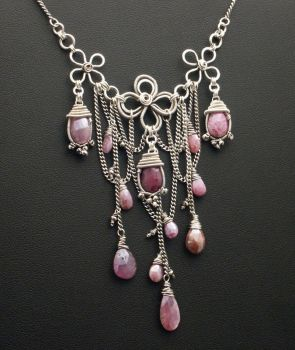 Karens Necklace by WiredElements