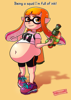 Splatoon: Inkling by xmasterdavid
