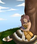 Under the maple tree. by GingerQuin