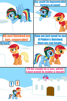 Snowball fight 2 by Death-Driver-5000