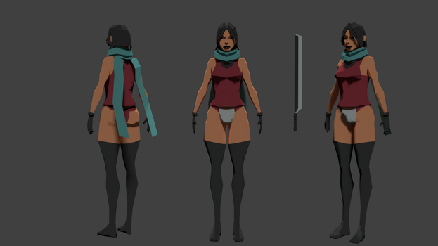 Low Poly Sketch by TSRevolver