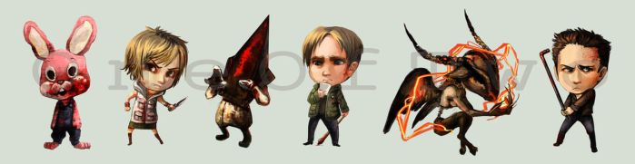 Silent hill - Stickers by oneoftwo