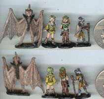 Elfquest Miniatures 03 by suzene