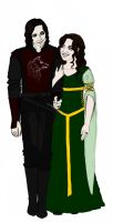 Lord and Lady Gisborne by Taaroko
