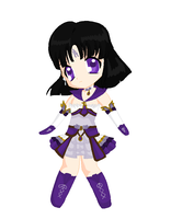 Chibi: Brillare Sailor Saturn by MahouChikara