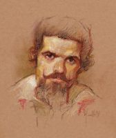 Study from Velazquez character by SILENTJUSTICE