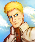 Golden Hokage by Hitoriedo