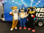 Oz Comic-Con Adelaide 2015: Sonic by lizardman22