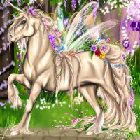 Fairy horse by harlequindoll13