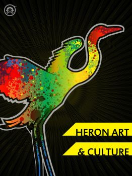 Heron Art and Culture v2 by TomoyoDG