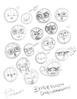 Expressions Practice. by SteamArtPunk