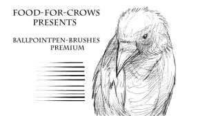 Ballpointpen Brushes - Premium by Food-For-Crows