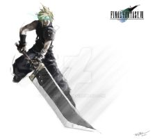 Cloud Strife-Unleashed by arvalis