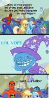 THE GREAT AND POWERFUL PHONEY by MOGNECIOtheBRAVE