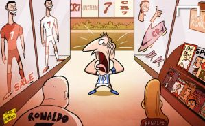 The Real deal: Messi left in Ronaldo shadow by OmarMomani