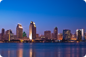 San Diego Skyline 01 by MindWinder