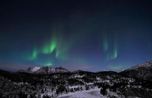 My First Auroras of 2012 by SindreAHN