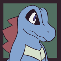 Krok the Totodile by J3rry1ce