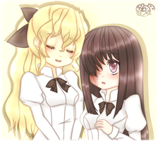 Katawa Shoujo by TheScarletDevil