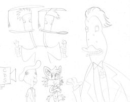 Duckman sketches 6 by dudiho