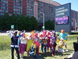 Anime North - Main 6 MLP by JayTwixCosplays