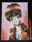 Watching the Horror - Eren Jaeger by InlineSpeedSkater
