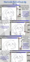 Tutorial - How to Color 2 of 4 by Nee-Jaku