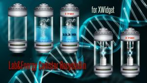 Lab And Energy Canister RecycleBin for xwidget by jimking
