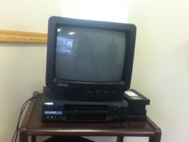 Old Fashioned Television Set by Mike-The-Winner