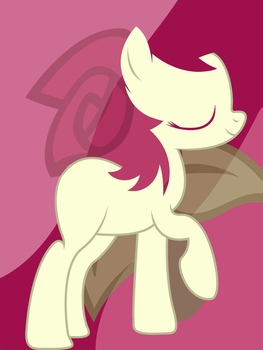Rose pony pad wallpaper by totalcrazyness101