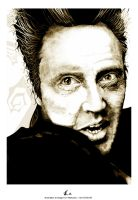 CHRISTOPHER WALKEN by angelgaby