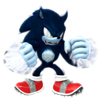 Legacy Sonic The Werehog Render by Nibroc-Rock