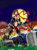 Bloodrayne by eduardo - Color by TraitorLegion