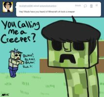 Ask Uncle Murdoc - Creeper Doc by anniemae04