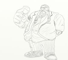 Gragas Esq. by TheSilentDane