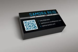 QR Code Business Card by Samosuki