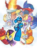 Mega Man by WaniRamirez