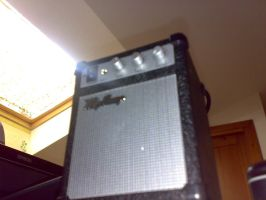Hail to the mighty iPod amp by Hotrod89