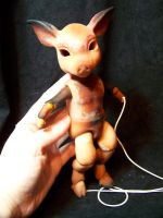 piggy bjd wip 2 by AmandaKathryn
