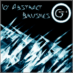 Icy abstract Brushes-PSP7 by gazer-X