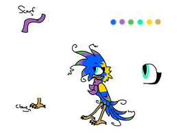 Official Melody Character Sheet 2012 by MOVEDTOHAWKBUTT