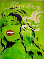 Absinthe Makes The Heart Grow. by Dare-dara